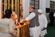 Rajnath Singh pay tribute to Veer Savarkar on 132nd birth anniversary