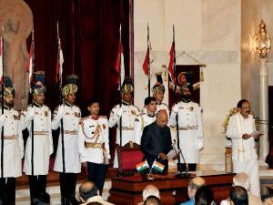 Venkaiah Naidu sworn in as 13th VP of India