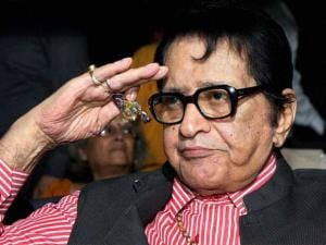 File photo of Bollywood actor Manoj Kumar who will be conferred the Dadasaheb Phalke award for_his contribution to the film industry