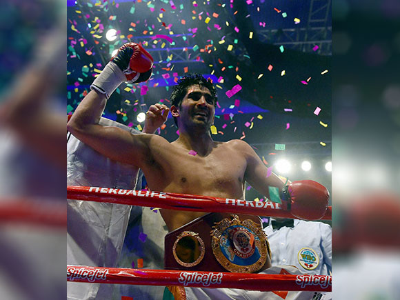 Vijender Singh, Kerry Hope, WBO Asia Pacific title, WBO Asia Pacific Middleweight Championship