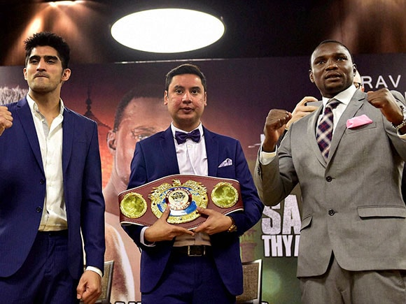 Vijender Singh, Francis Cheka, WBO, boxing, fight
