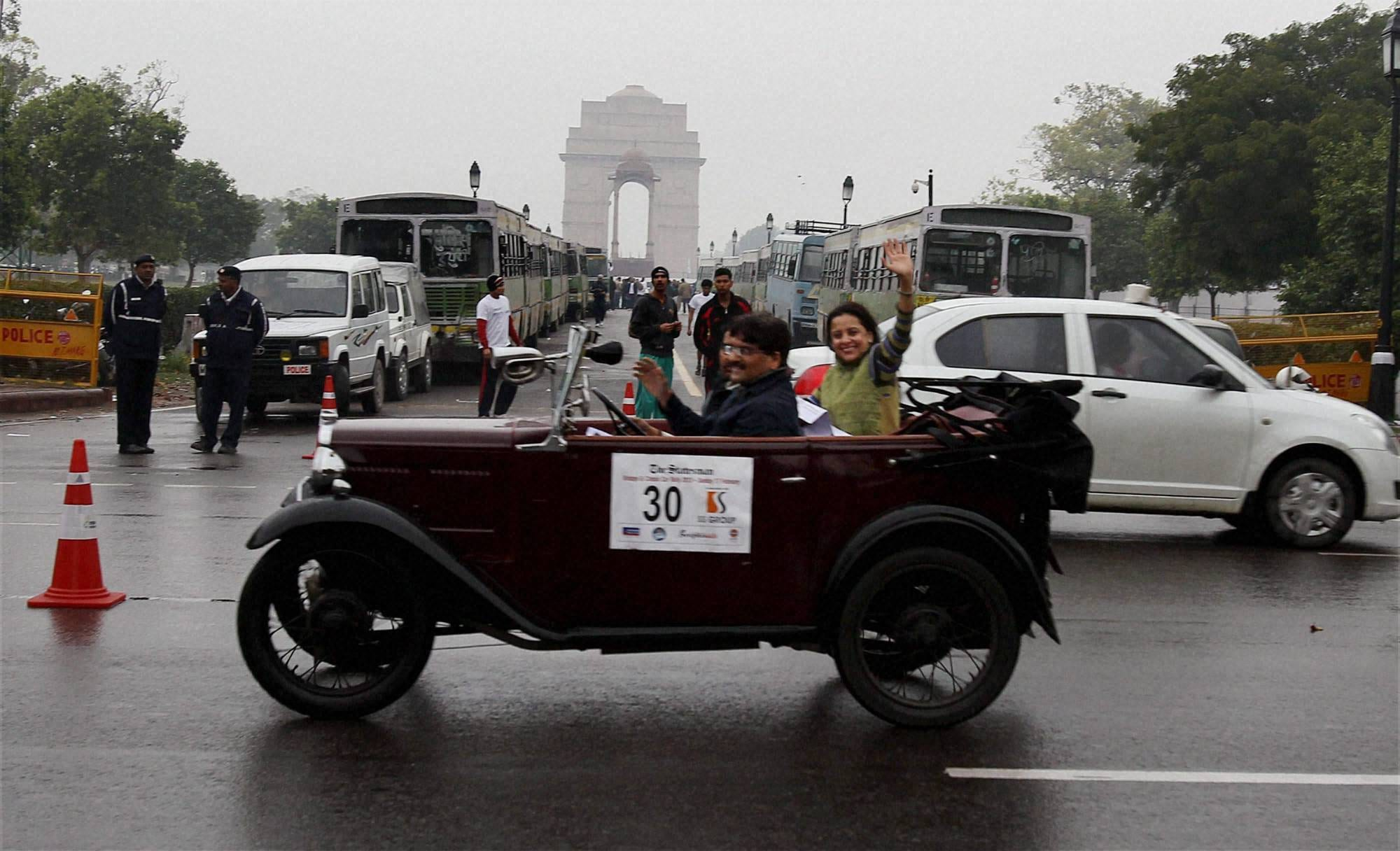Vintage, Classic car rally held | Photo Gallery - Business Standard