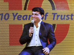 Sourav Ganguly during a promotional campaign