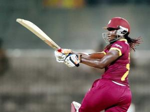 West Indies' skipper Stafanie Taylor plays a shot during the ICC Women's World T20 match against Pakistan at MAC Stadium