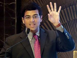 Former World Chess Champion Grand Master Viswanathan Anand addresses during the Liva accredited partner forum confluence in Mumbai