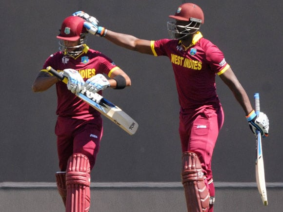 World Cup 2015,  Ireland vs West Indies, Andre Russell, Simmons,  West Indies, Ireland,  Nelson, New Zealand