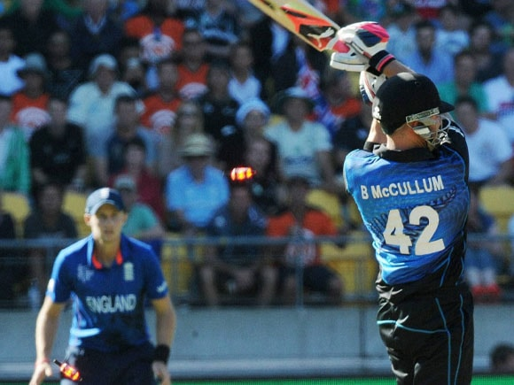 World Cup 2015, New Zealand vs England, Brendon McCullum