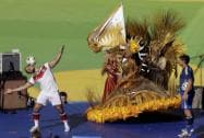 The World Cup final soccer Match between Germany and Argentina at the Maracana Stadium in Rio de Janeiro, Brazil