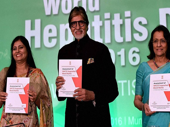 WHO, World Hepatitis Day 2016, Amitabh Bachchan, Ministry of Health and Family Welfare