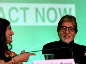 Amitabh Bachchan  during the World Hepatitis Day 2016 event