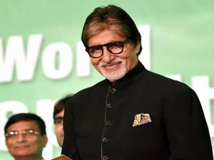 Bollywood superstar Amitabh Bachchan during the World Hepatitis Day 2016