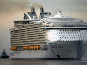 Harmony of the Seas world's largest passenger ship prepares for maiden cruise