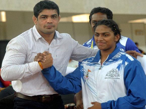 bronze medal, Anjumol Joseph, Sushil Kumar