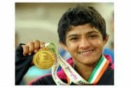 Wrestling at the 35th National Games in Kannur