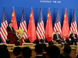 China's President Xi Jinping during Joint Opening ceremony of the 8th U.S.-China Strategic and Economic Dialogues