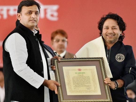 Yash Bharti award, Uttar Pradesh CM, singer Kailash Kher