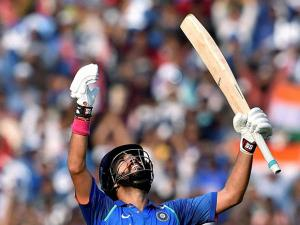 Yuvraj Singh celebrates his century during 2nd ODI Match against England at Barabati Stadium in Cuttack