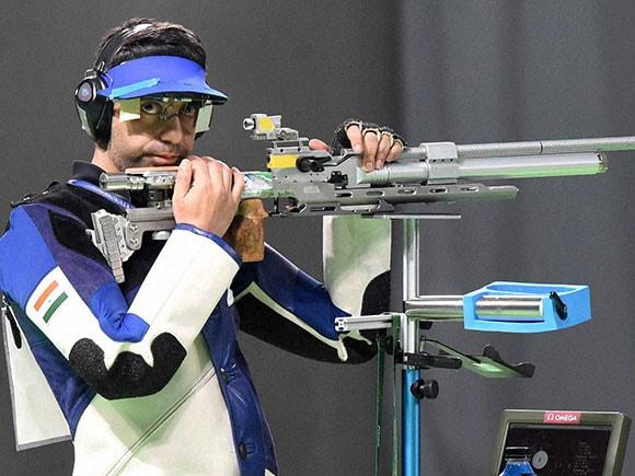Rio Olympics 2016, Abhinav Bindra, Men's 10m Air Rifle Final, Rio de Janeiro