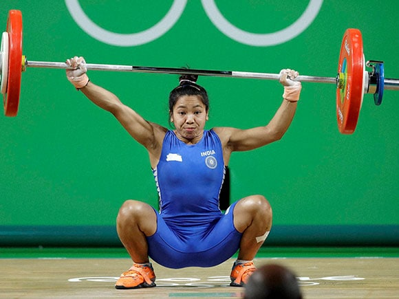 Saikhom Mirabai Chanu, Weightlifter, India at Rio 2016, Rio Olympics 2016, Inida
