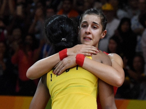 P V Sindu, silver, badminton, Rio, Olympics, silver, Carolina Marlin, Spain