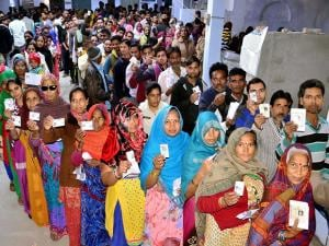 64% turnout in first phase of UP polls