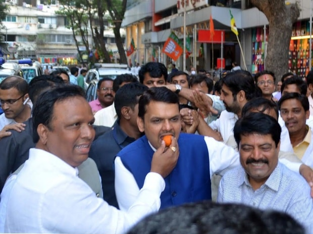 BMC, Mumbai, Navi Mumbai, Thane, BJP, seats, Shiv Sena, polls, elections, election, poll, Devendra Fadnavis