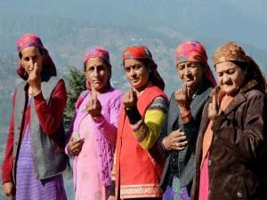 India's oldest voter and through ropeways: How Himachal went voting today
