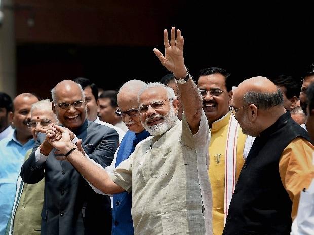 Ramnath kovind, Nomination, Presidential Poll, Narendra Modi, BJP, India