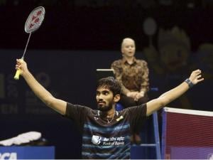 Brilliant Srikanth whips Sakai to win Indonesian Open