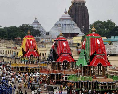 Chariots ready for Rath Yatra