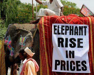 Agitation against price rise