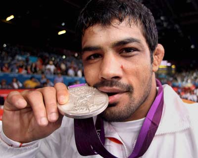 Sushil Kumar boosts India's medal tally with a silver