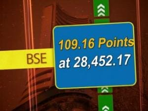 BSE closes 109.16 points up on Aug 31