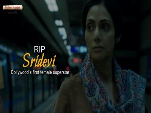RIP Sridevi: Bollywood's first female superstar