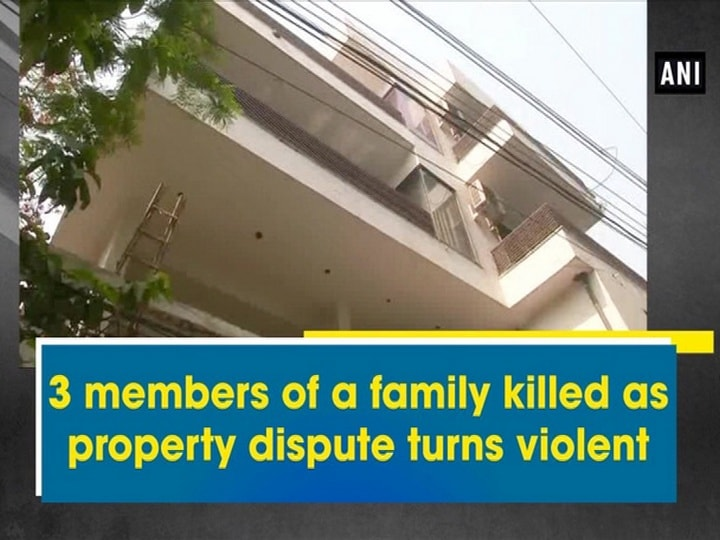 3 members of a family killed as property dispute turns violent