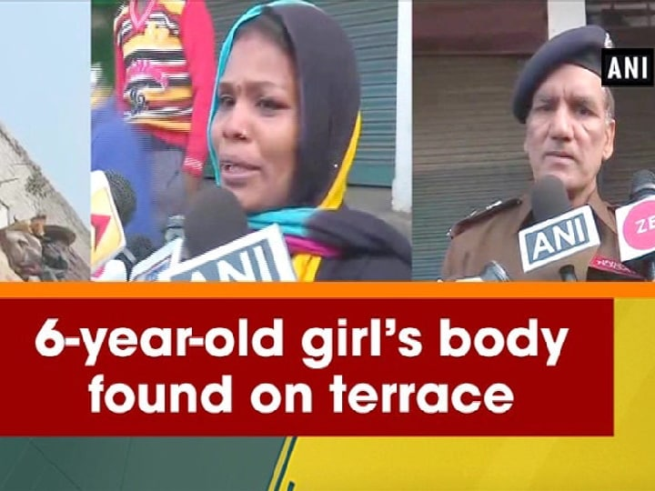 6-year-old girl's body found on terrace