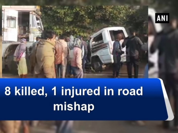 8 killed, 1 injured in road mishap