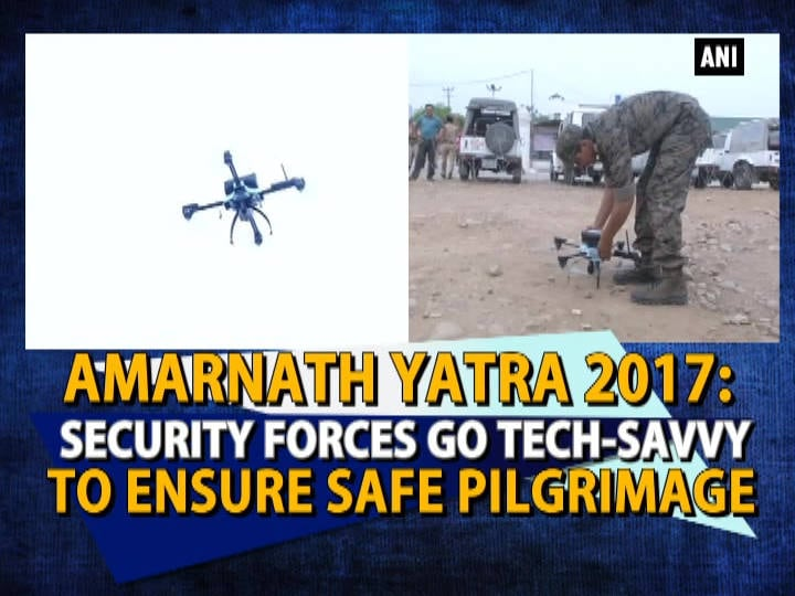 Amarnath Yatra 2017: Security forces go tech-savvy to ensure safe pilgrimage
