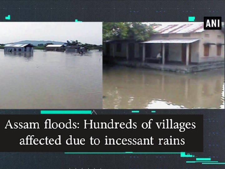 Assam floods: Hundreds of villages affected due to incessant rains
