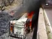 At least 35 killed after bus catches fire after road accident in Madhya Pradesh