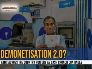 ATMs across the country run dry as cash crunch continues