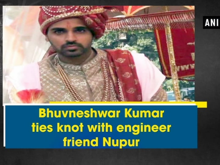Bhuvneshwar Kumar ties knot with engineer friend Nupur