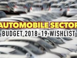 Budget 2018: This is what the automobile sector wants from FM Arun Jaitley
