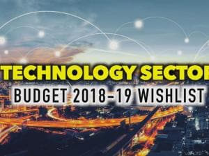 Budget 2018: This is what the technology sector wants from FM Arun Jaitley