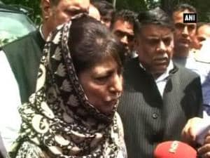 Burhan Wani would have been given a chance: Mehbooba Mufti on his encounter