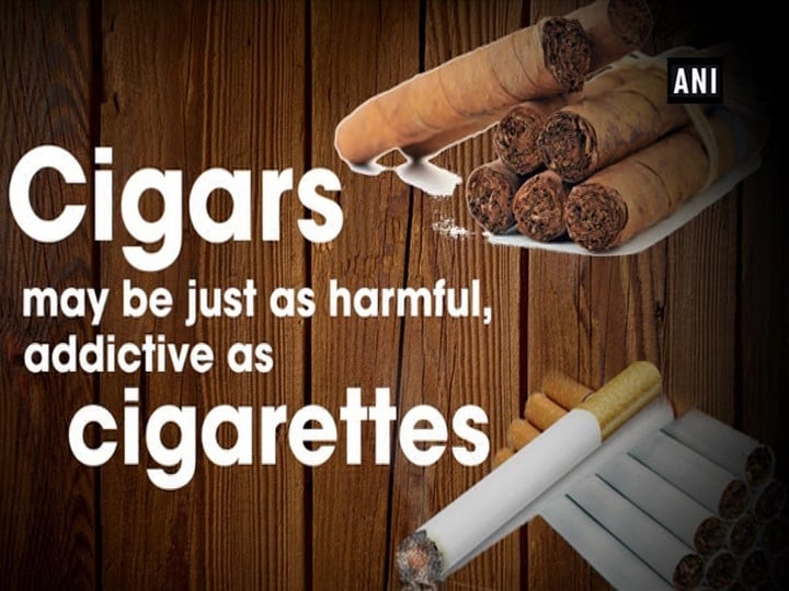 Cigars may be just as harmful, addictive as cigarettes