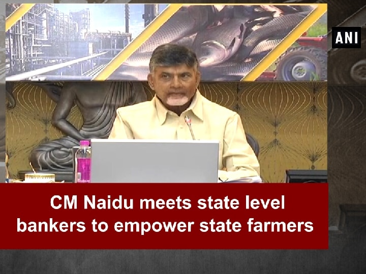 CM Naidu meets state level bankers to empower state farmers