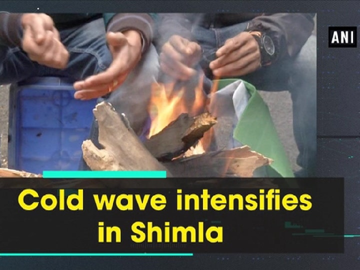 Cold wave intensifies in Shimla