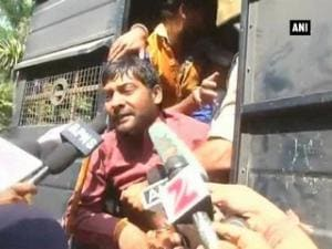 Congress workers detained for protesting against MP minister