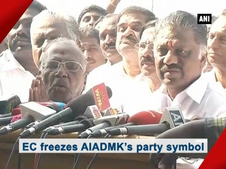 EC freezes AIADMK's party symbol